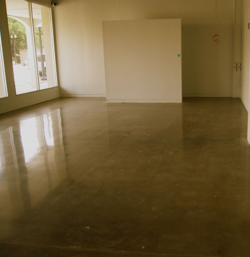 Concrete polishing houston texas 281 350 3663 for Buffing stained concrete floors